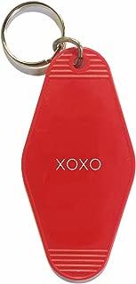 Three Potato Four Key Tag - XOXO (Red)