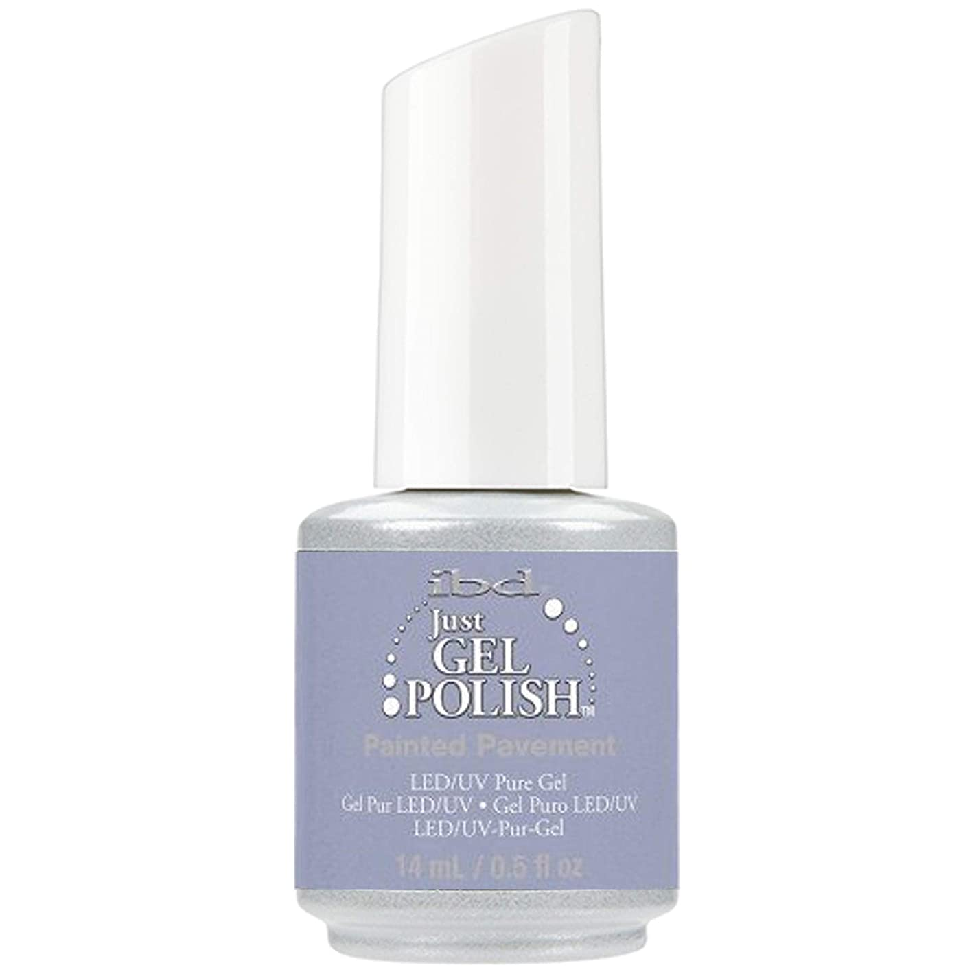 ペレットノミネートもつれibd Just Gel Nail Polish - Painted Pavement - 14ml / 0.5oz