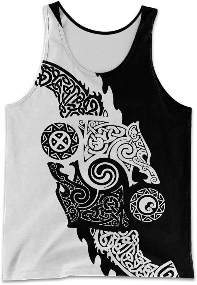 YABEME 3D Duplex Print Norse Max 41% OFF Men's Ranking TOP14 Clothes Tattoo Set Mythology