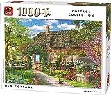 KING 55956 Old Cottage - Puzzle de 1000 Piezas, a Todo Color