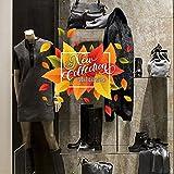 wall art UVNC0044 Nuova Collezione Inverno Adesivi per vetrine Negozi promozioni Stickers, Adesivi Adesivi Murali - Misura 40x25 cm