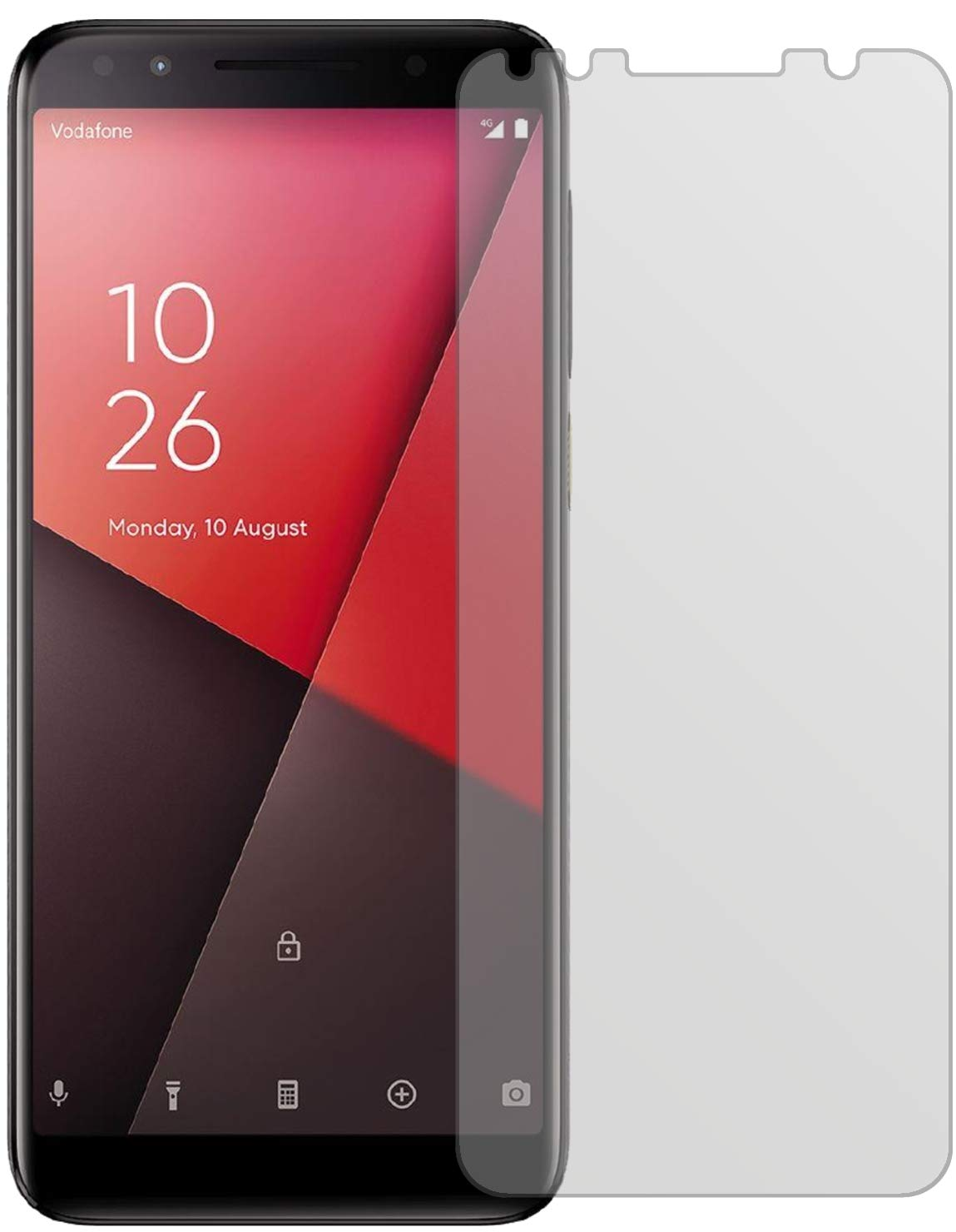 dipos I 6X Protector de Pantalla Mate Compatible con Vodafone ...