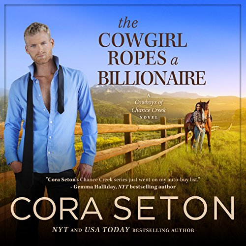 The Cowgirl Ropes a Billionaire cover art