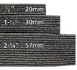 Kaizen Foam 2ft x 4ft x 57mm (2-1/4inch) Black