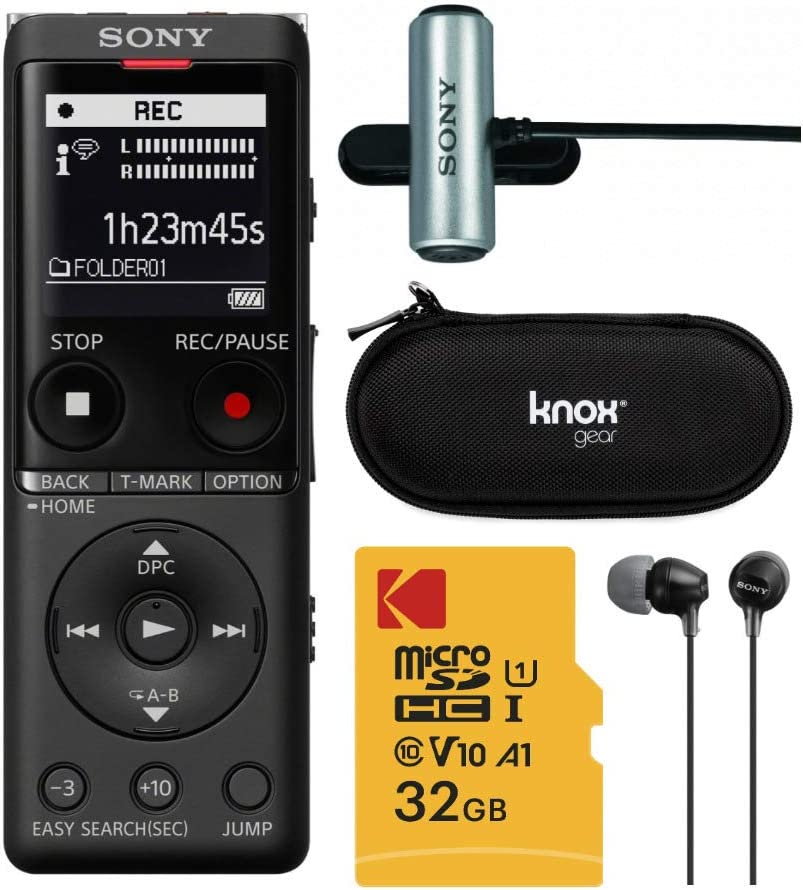 Sony ICDUX570BLK Slim Design Digital Black Voice Shipping included Recorder Comp Special price