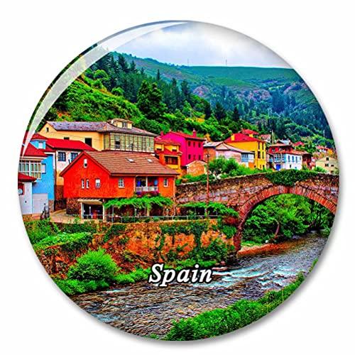 España Asturias Imán de Nevera, imánes Decorativo, abridor de Botellas, Ciudad turística, Viaje, colección de Recuerdos, Regalo, Pegatina Fuerte para Nevera