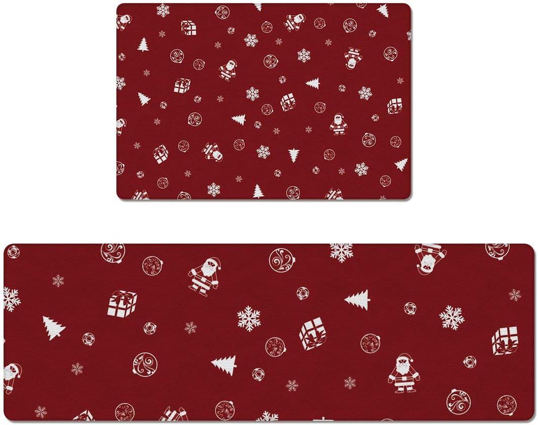 SODIKA 2 Pieces Anti Fatigue Kitchen Floor Non Mats Waterpr Challenge the lowest price of Denver Mall Japan ☆ Slip