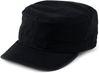 NYFASHION101 Fashionable Solid Color Unisex Fitted Army Military Cadet Cap