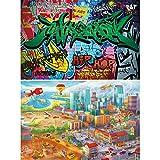 GREAT ART 2er Set XXL Poster – Großstadtbilder –