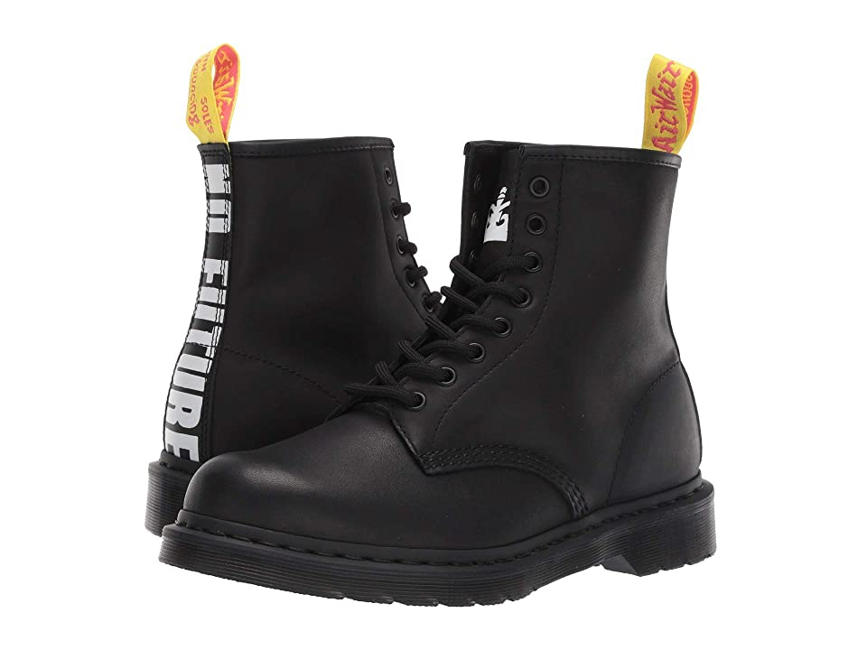 Dr. Martens 1460 Sex Pistols Collab (Black Milled Greasy/Backhand Leather) Boots