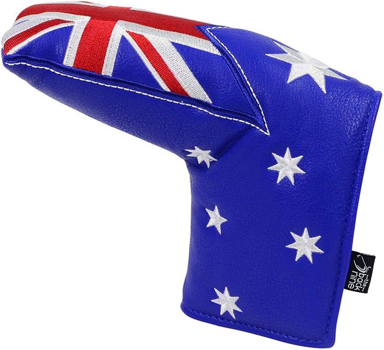 The Back Nine Australian Flag Blade Putter Cover