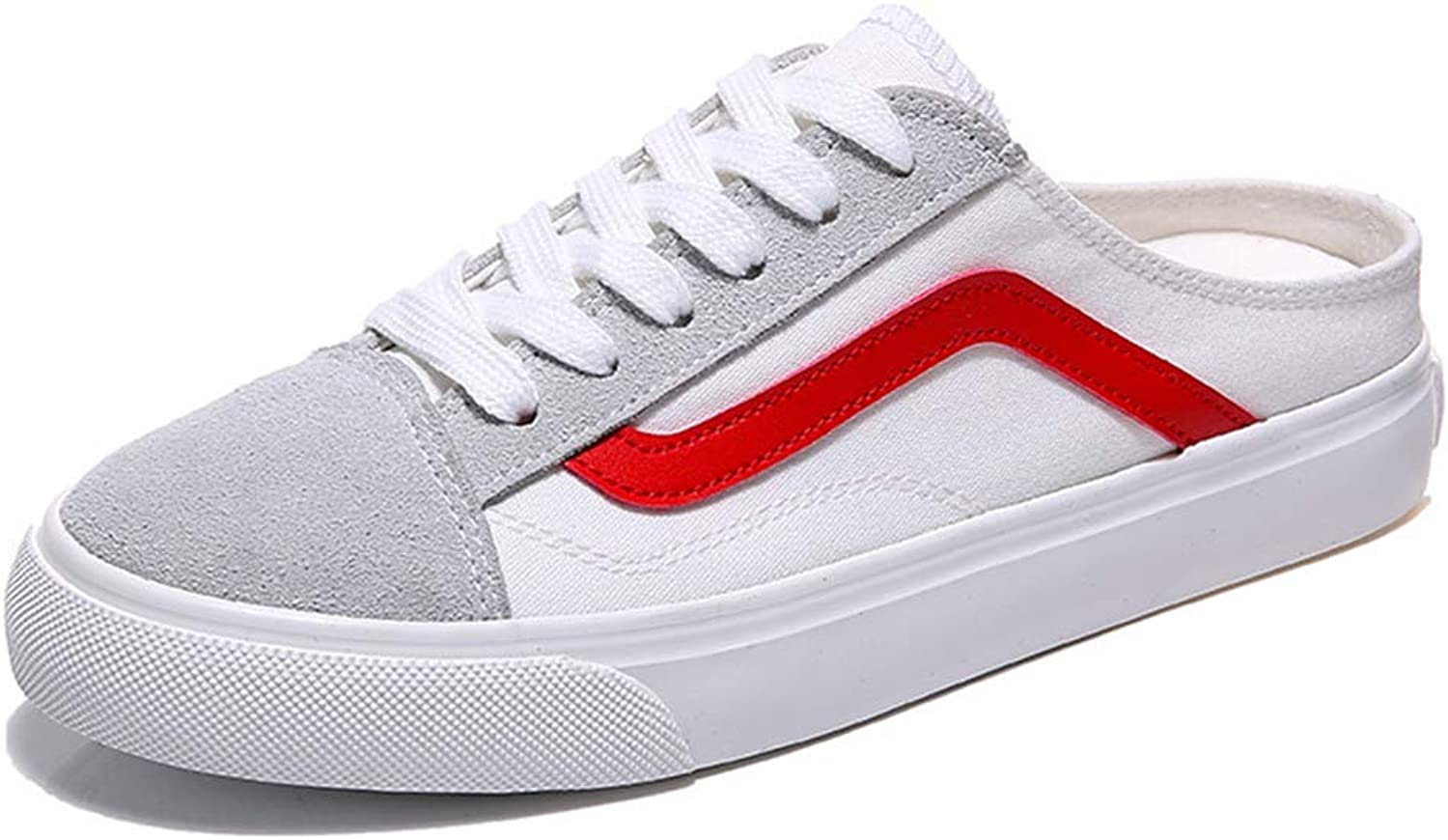 Canvas shoes Women Flat Backless Classic Sneaker shoes