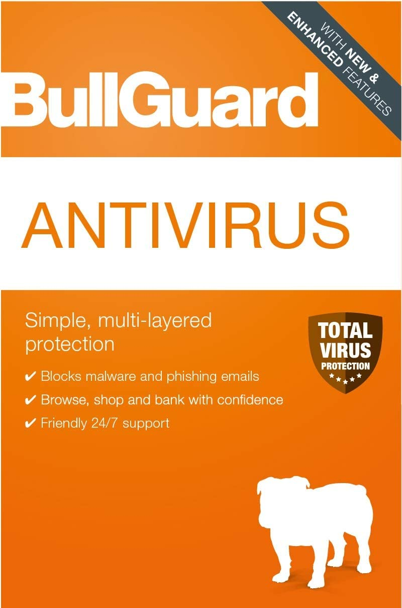 BullGuard Antivirus 2020 3 Devices PC Max 65% OFF code Year 1 New popularity Online