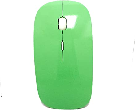 6713bec1215 Amazon.com: ROCKSOUL MS-102 Bluetooth Laser Mouse, Baby Green: Computers &  Accessories