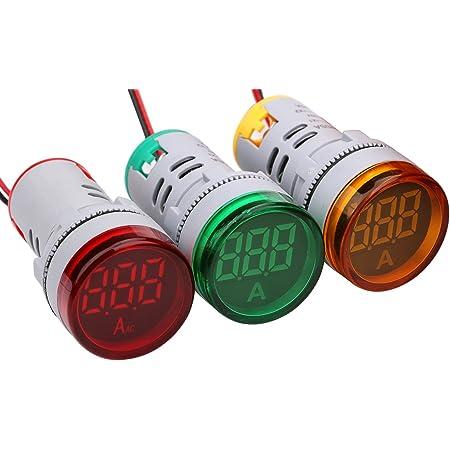 Details about  /AC 20-500V LED Digital Display Voltmeter Signal Light Voltage Meter Indicator