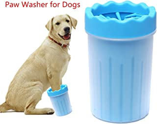 FULNEW Portable Dog Paw Cleaner Pet Feet Washer Pet Cleaning Brush Cup for Dogs Cat Grooming