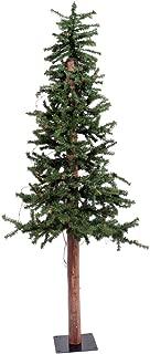 Vickerman Alpine Tree with Pine Cones and Vine Green Alpine, 48-Inch