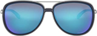 Oakley Oval Sunglasses for Women, Blue - OO4129 41290758 (58.2 mm)
