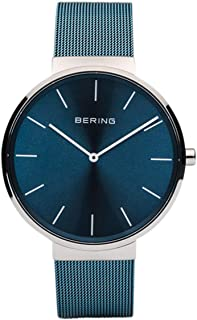 BERING Unisex Adult Analogue Quartz Watch with Stainless Steel Strap 16540-308