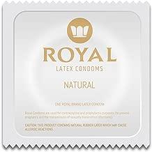 Royal Condoms - Ultra Thin, All Natural, Organic, Gluten Free, Nitrosamine Free, BPA Free, Cruelty Free, Vegan, Latex Covered in Odor Free Water Based Premium Lube, Bulk 234 Count
