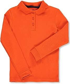 orange school uniform shirts