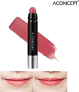 [A:CONCEPT] A:Lipstick 1.5g - Velvet Matte Long-Lasting Color Lip Makeup (A:Pink Brown)