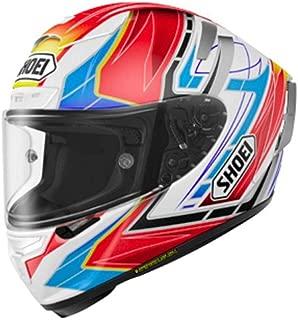 Shoei Assail X-14 Sports Bike Racing Motorcycle Helmet - TC-10 / Large