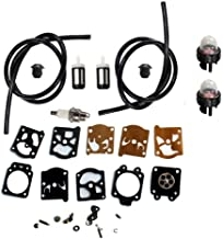 HURI Fuel Line Grommet Carburetor Repair Kit for Stihl FS36 FS40 FS44 String Trimmer