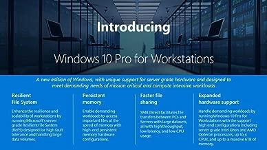Microsoft Windows 10 Pro 64-bit for Workstations OEM License