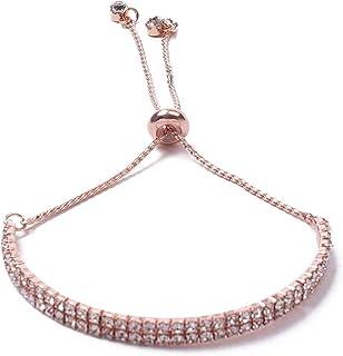 Colette Hayman - Diamante Cup Chain Adjustable Wristwear