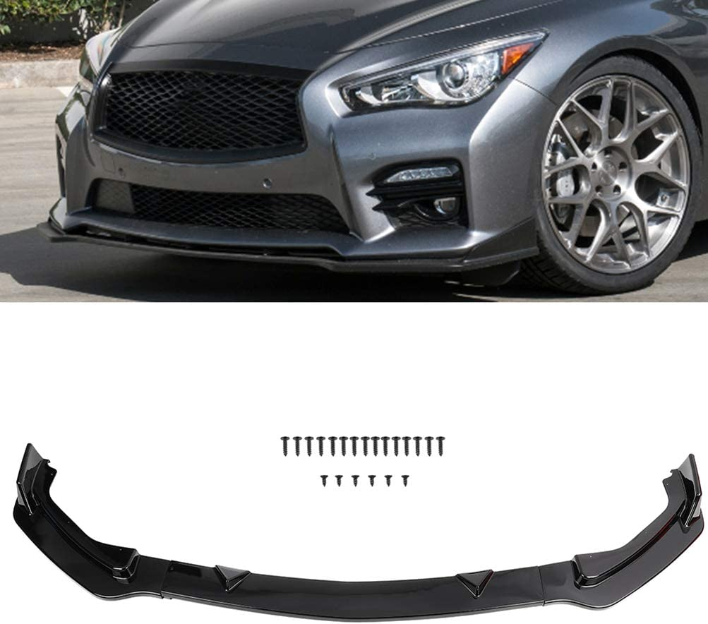 shopping Genuine Free Shipping ECCPP 3pcs Front Bumper Lip Splitter for compatible 201 with fit