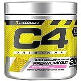C4 Original Pre Workout Powder Pink Lemonade| Sugar Free Preworkout Energy for Men & Women | 150mg Caffeine + Beta Alanine + Creatine | 30 Servings