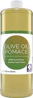 MD. Life Pomace Olive Oil – Mediterranean Food Grade Cooking Olive Oil -%100 Pure – Olive Oil for Soap Making, Hair & Skin...