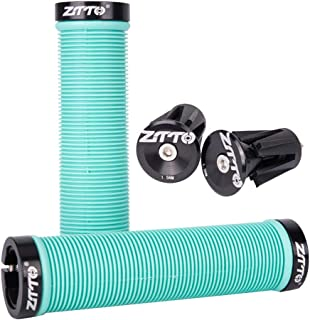 Ztto Bicycle Grips AG-15 with CNC Aluminum Expander...