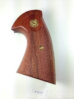 colt python wood grips