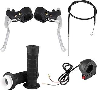 Qii lu Kill Ein/Aus Schalter Gashebel Kit für Pocket Bike Mini Motorrad ABS und Aluminiumlegierung Material Griffe für 47CC 49CC