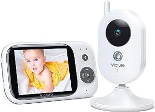 Victure Vigilabebés Inalambrico con cámara, Monitor para B