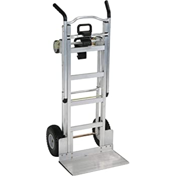 Cosco 3-in-1 XL Aluminum Hand Truck/Assisted Hand Truck/Cart w/flat free wheels 2 Handle