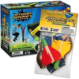 Stomp Rocket Stunt Planes & Bonus Party Pack