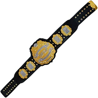 Brand New IWGP Heavyweight Championship Title Belt Gold Plated Adult Size