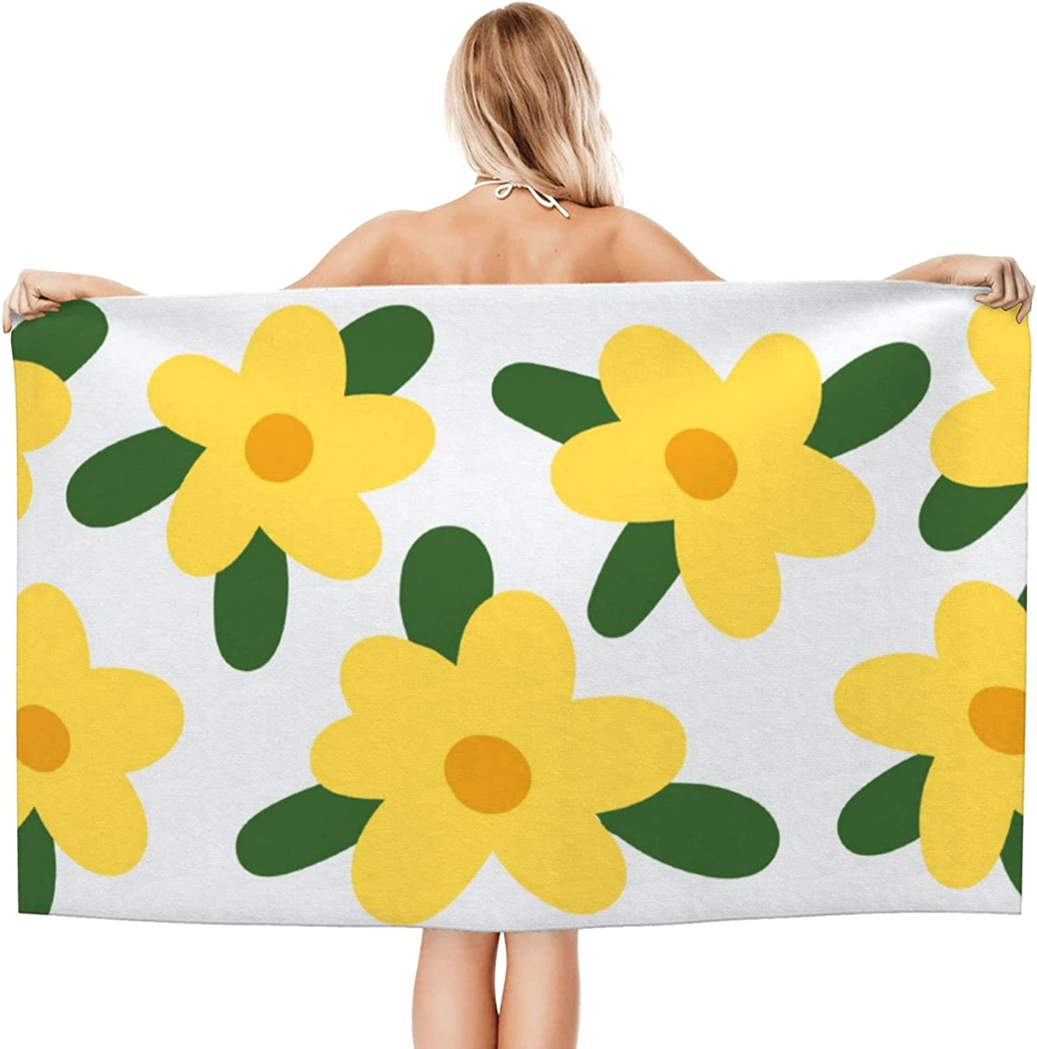 NINAINAI Super Soft Luxury Bath Max 88% OFF Excellence To Towel Absorbent Flowers
