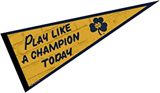 Notre Dame Play Like A Champion Locker Room Pennant