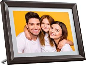Dragon Touch Digital Picture Frame WiFi 10 inch IPS Touch Screen HD Display, 16GB Storage, Auto-Rotate, Share Photos via App, Email, Cloud - Classic 10