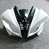 ZXMOTO Unpainted Front Upper Nose Fairing for Yamaha YZF R6 2008-2016 2009 2010 2011 2012 2013 2014 2015 Individual Motorcycle Fairing