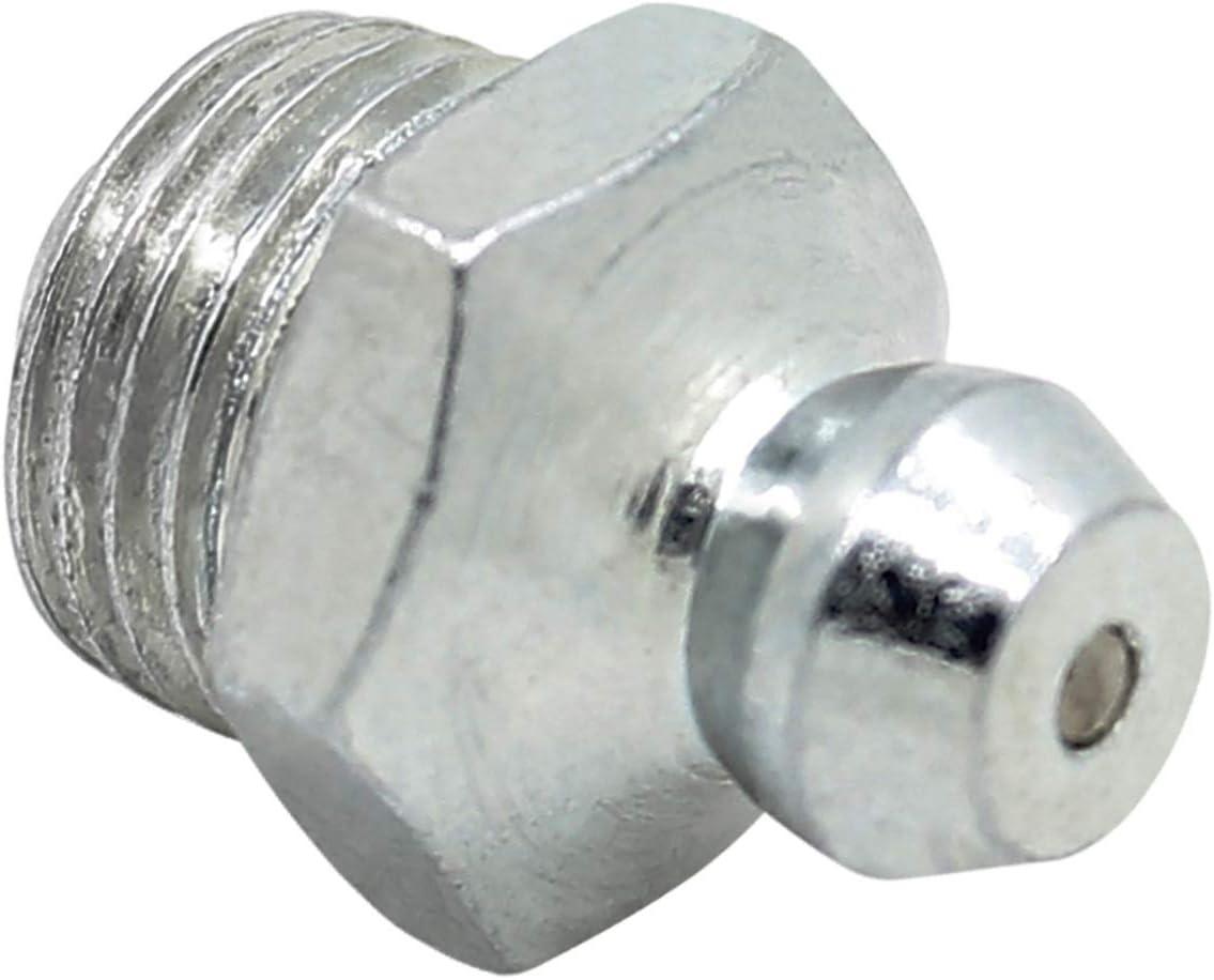 Schmiernippel M6 M8 M10 Für Manuelle Fettpumpe Fettpresse Sortiment Hydraulischer Fettlöser Gewinde M8 Baumarkt