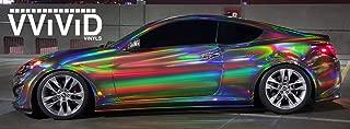 Best rainbow chrome car wrap Reviews