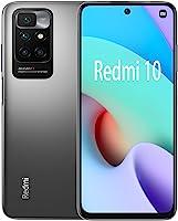 موبايل شاومي ريدمي 10 بشريحتي اتصال - 6.53 بوصة فل اتش دي ، 64 جيجا ، 4 جيجا رام ، شبكة الجيل الرابع ال تي اي - رمادي كربوني