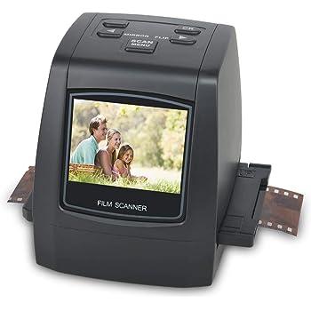 Scanner de Films et Diapositives Haute Résolution 22 MP, 35mm, Super 8, 110 et 126 Convertisseur de Film et Négatifs pour JPEG