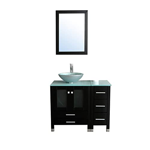 Vessel Sink Vanity Amazon Com
