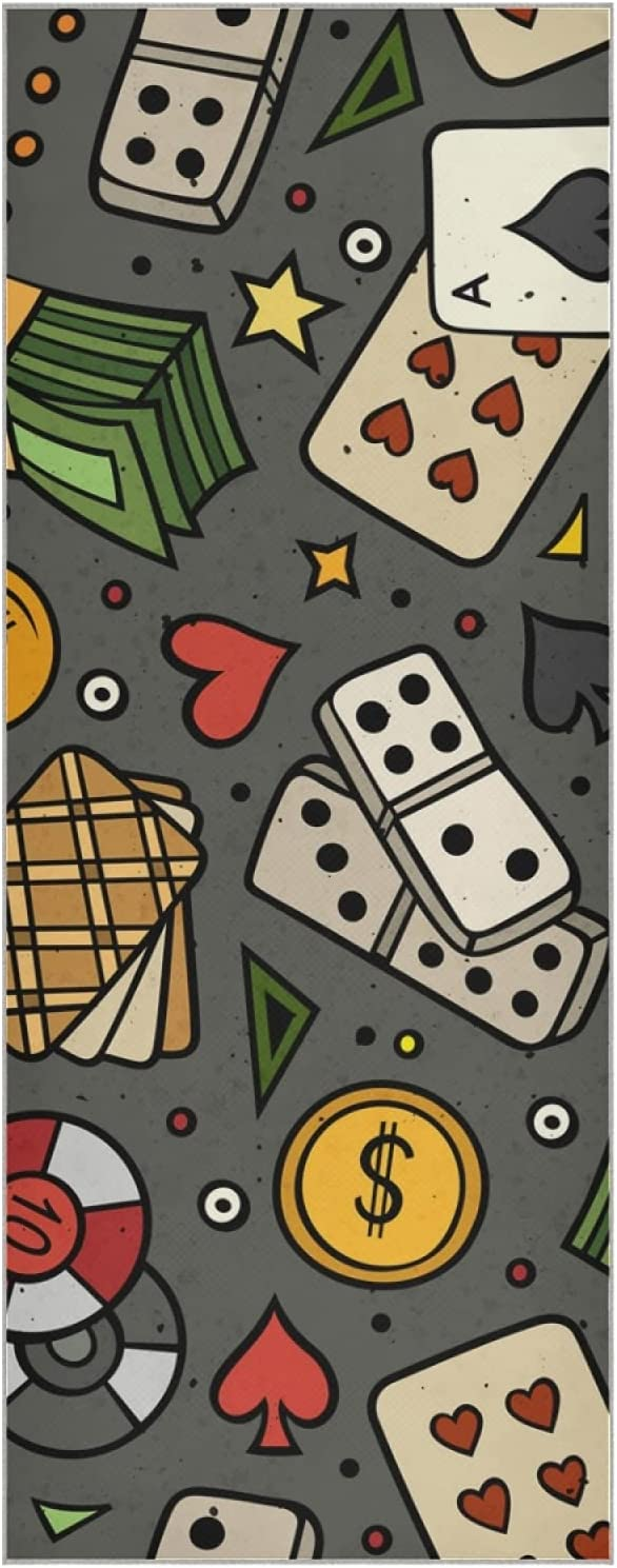 JRDD Playing Cards Yoga Towel Non-Slip NEW before selling ☆ New life Mats Quick Dry
